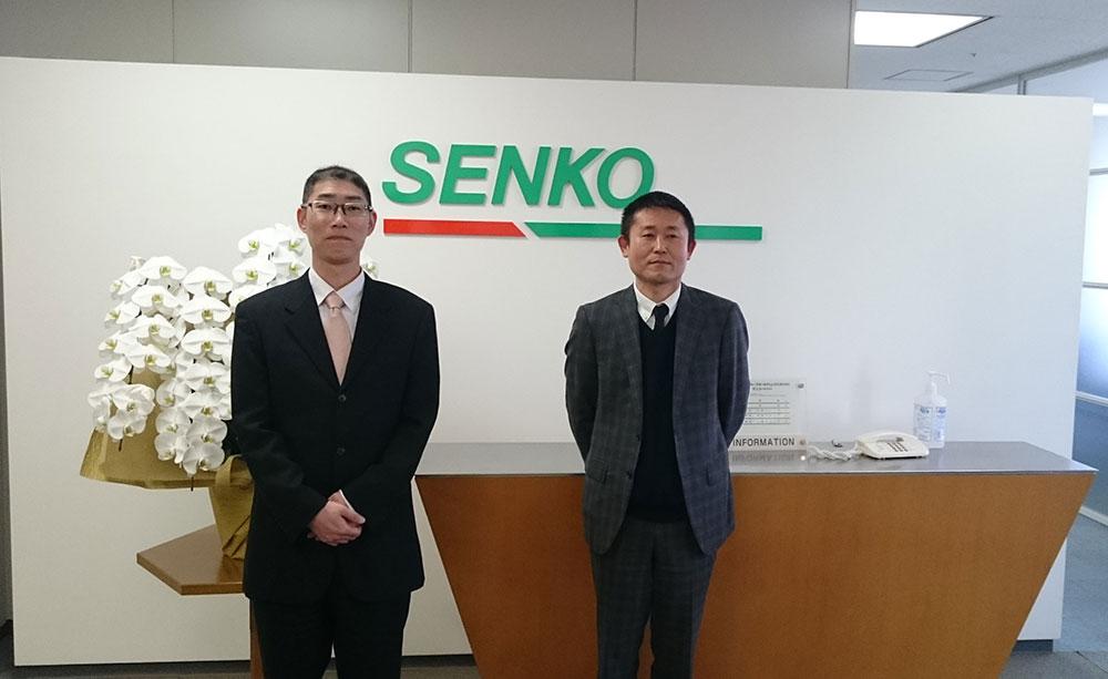 写真:濱野氏と熊澤氏